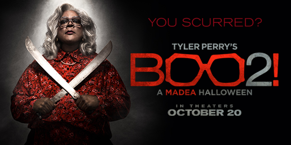Win passes to see an advance screening of TYLER PERRY'S BOO 2! A ...